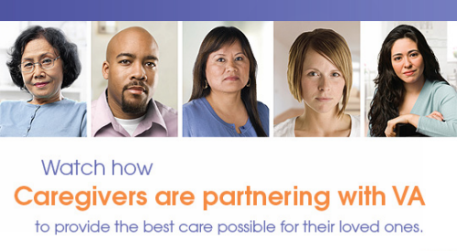 Watch how Caregivers partnering with VA to provide the best care possible for their loved ones.